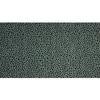 Nicky velours Dots - dusty green