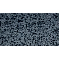 Nicky velours Dots - dusty blue