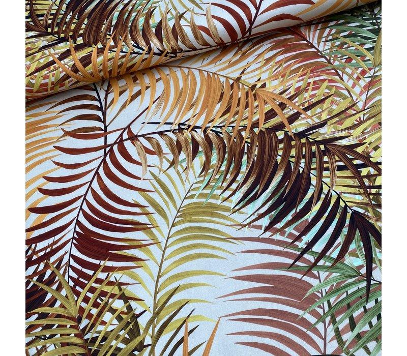Stretch Cotton Sundown Palms