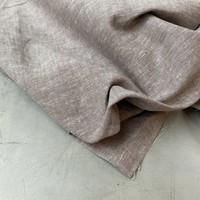 Linen Mix Melange Taupe