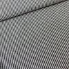 De Stoffenkamer Linen Mix Melange Navy Stripes