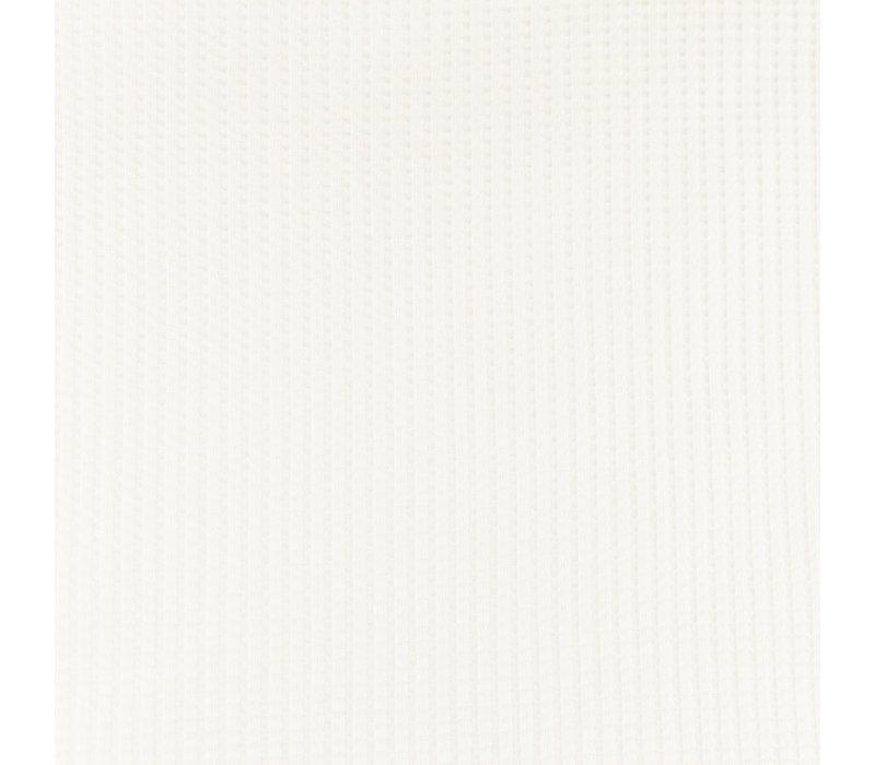 Tricot Wafel - White