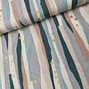 Kokka Trefle Metallic Canvas Linen