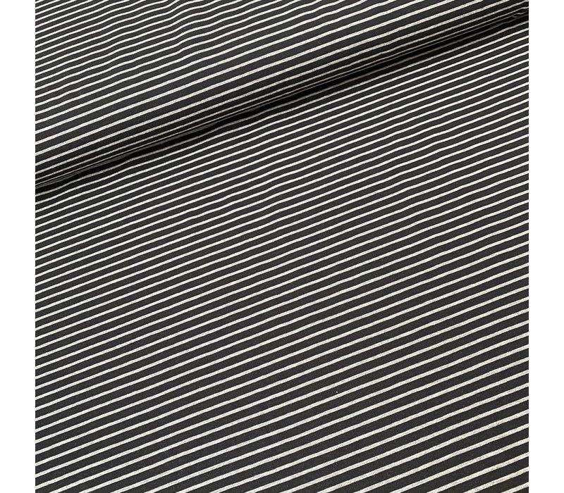 Tricot  Stripes Black//Grey