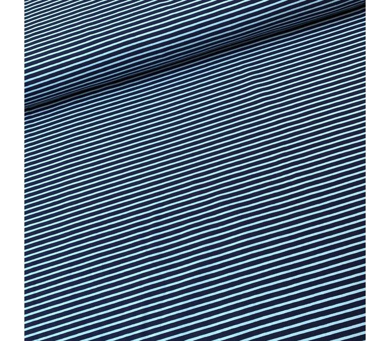 Tricot  Stripes Turkis//Petrol