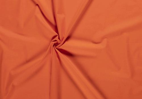 De Stoffenkamer Effen katoen echt oranje
