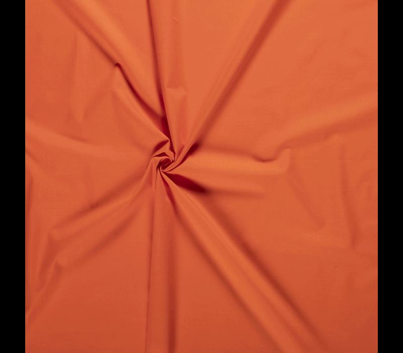 Effen katoen echt oranje