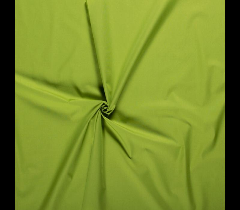 Effen katoen limoen groen