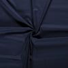 De Stoffenkamer Effen katoen Donkerblauw
