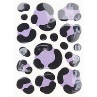 Strijkapplicatie Acid Leo Purple