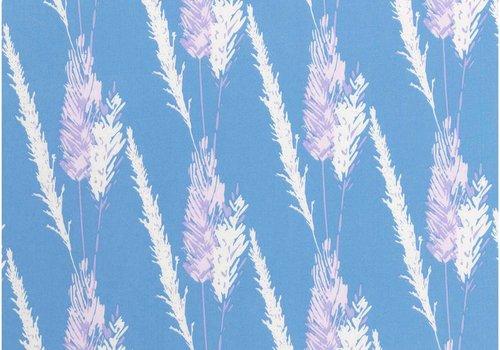 Rico Cotton Blue - Lila Pampas
