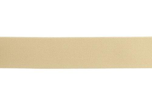 De Stoffenkamer Taille Elastiek 40mm - sand