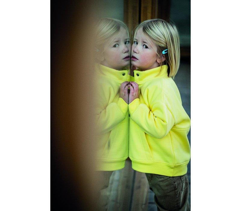 Warme Sweater Robin - Light Yellow