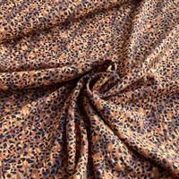 Viscose Warm Chestnut Mini Leopard