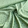 Editex Viscose Soft Green little branches