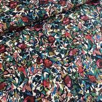 Cotton-Viscose twill  flowerfield