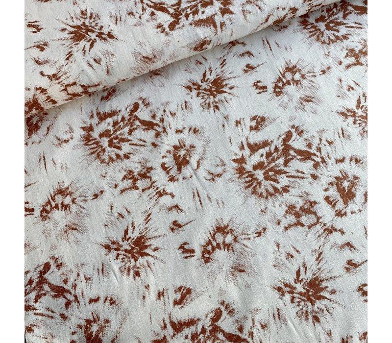 Cotton Linen Mix - copper metallic