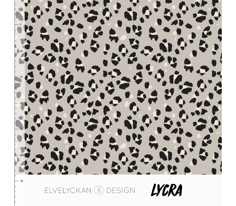 Swimwear Lycra - Lynx Desert