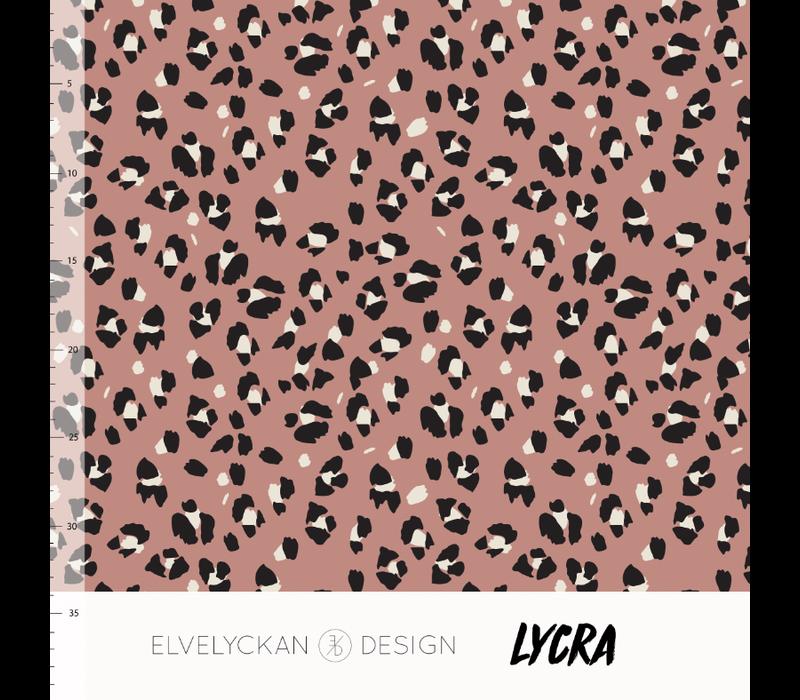 Swimwear Lycra - Lynx Blush