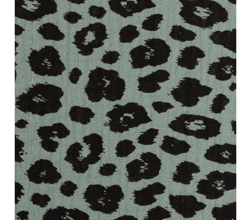 Double Gauze Tetra Leopard Sage