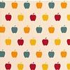 De Stoffenkamer Cotton - multi apples