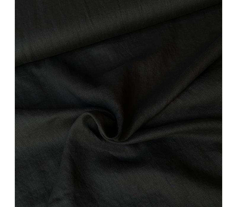 Washed Linen Black