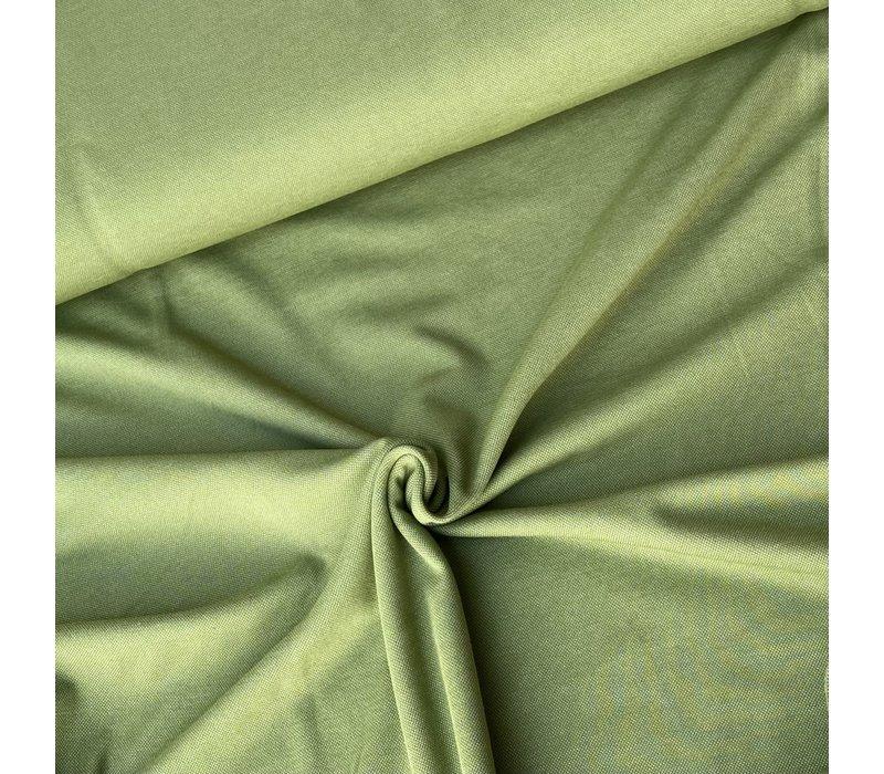 Interlock Picque Tricot - Green