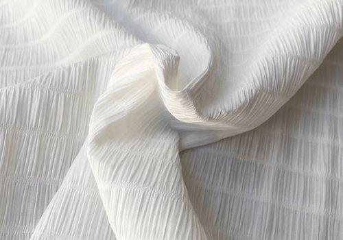 Bittoun Cotton Seersucker Off white