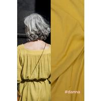 Wrinkle Viscose DANNA - Mustard