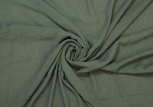 Fibre Mood Wrinkle Viscose FIONA - Khaki