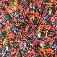 Plissé bright Flowers - FIONA