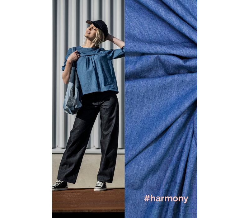 Chambray Cotton Denim - DANNA, RUPERT & HARMONY