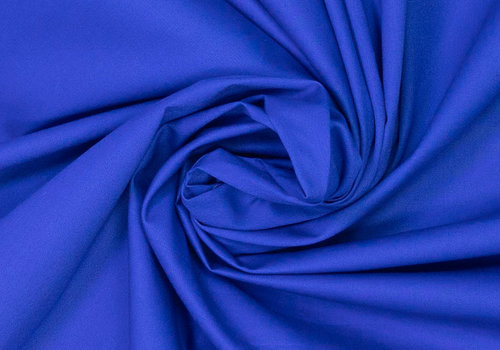 Fibre Mood Poplin Kobalt - MAYA
