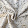 Fibre Mood Rekbare badstof - spons confetti ocre