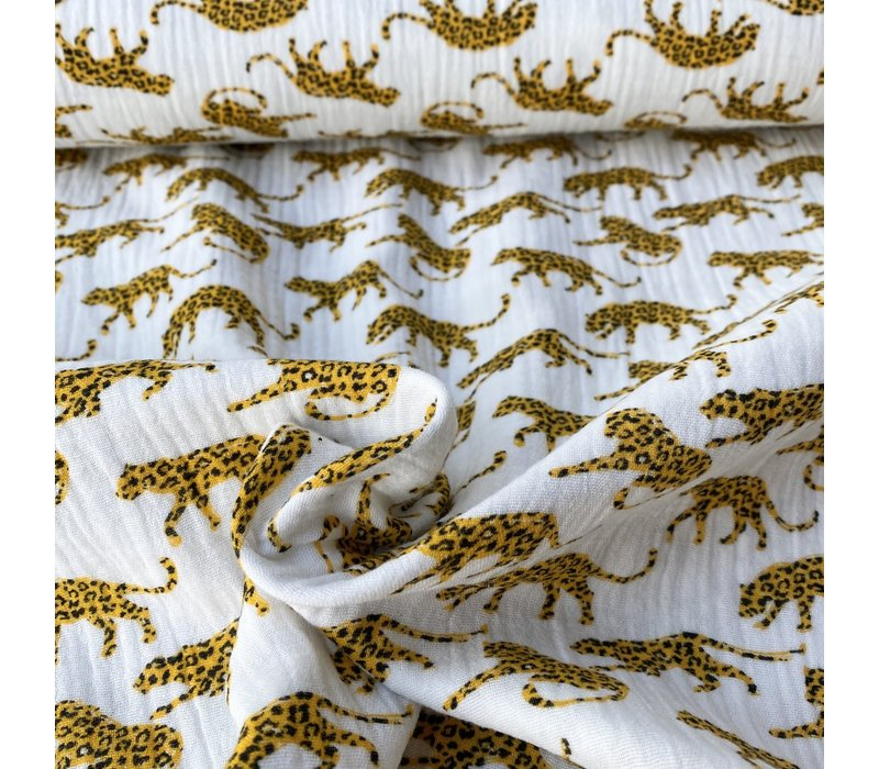 Double Gauze Tetra Leopards