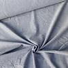 De Stoffenkamer Seersucker Cotton - stripes denimblue