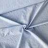 De Stoffenkamer Seersucker Cotton - stripes lighblue