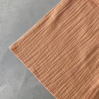Linen double gauze Salmon