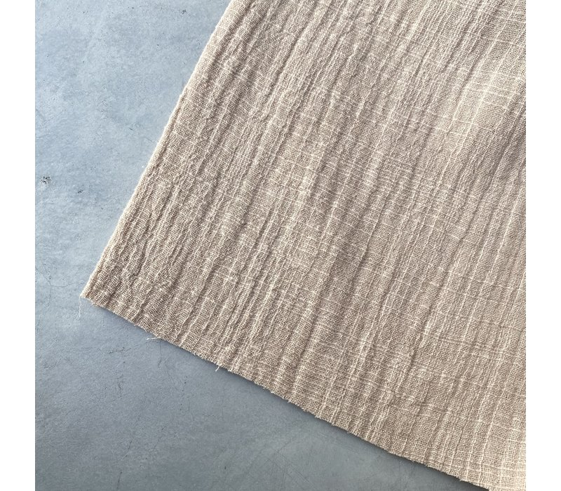 Linen double gauze Sand