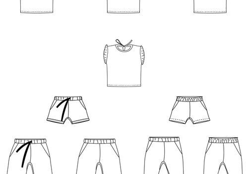 Bel'Etoile Nio/Nia broek - tshirt