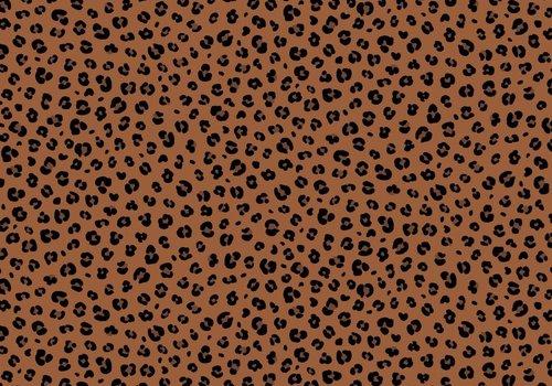 De Stoffenkamer Cotton - Mini Leopard Rust