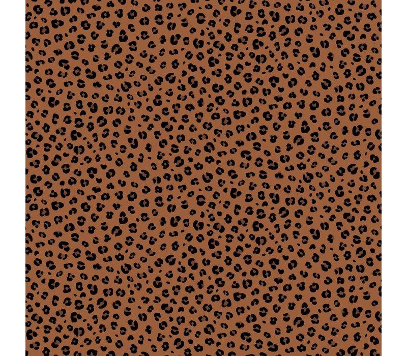 Cotton - Mini Leopard Rust
