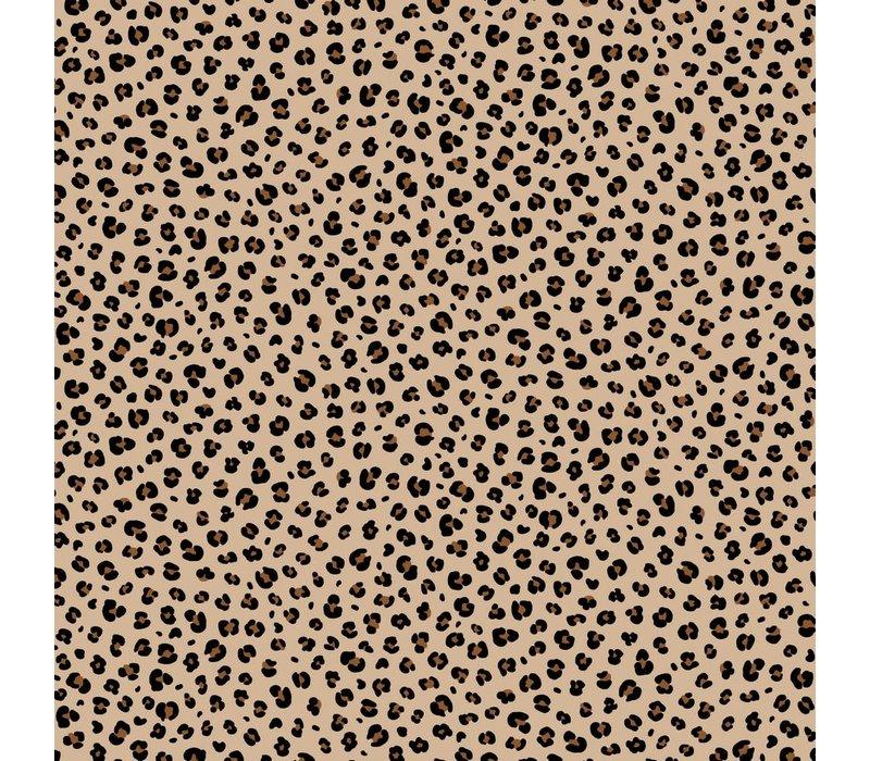 Cotton - Mini Leopard Sand