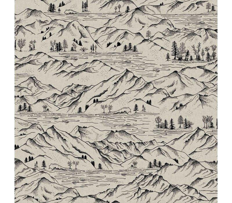 Canvas Naturel - Mountains
