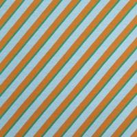 BIO French Terry - Diagonal Blue
