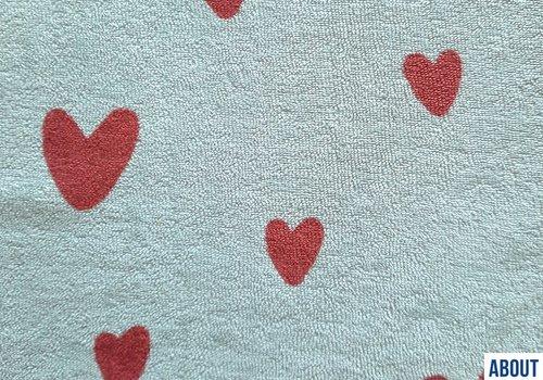 About Blue Fabrics Spons - Love U Too