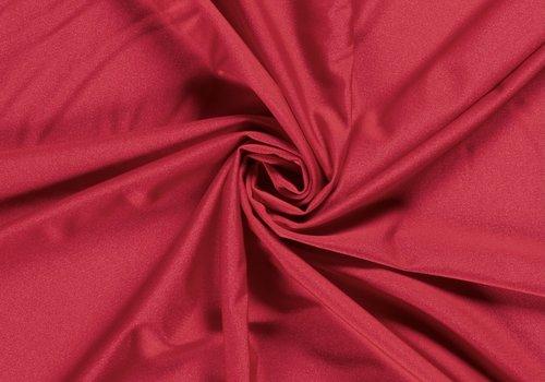 De Stoffenkamer Swimwear Lycra Uni Red