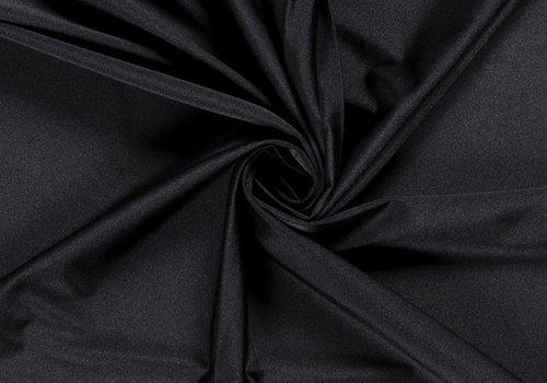 De Stoffenkamer Swimwear Lycra Uni Black