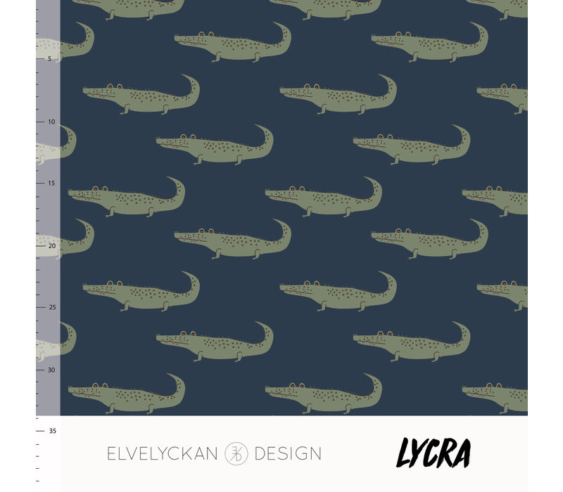 Swimwear Lycra - Dark blue Crocs