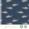 Elvelyckan Bio tricot - Submarine Dark Blue